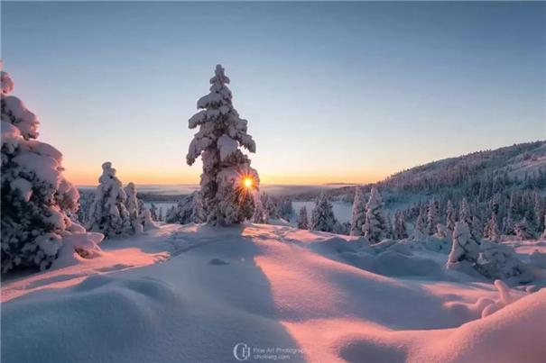"""除了""""哇!"""",攝影師在雪景中還能做什么?"""