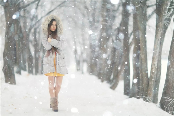 雪景人像拍摄秘诀要收藏!