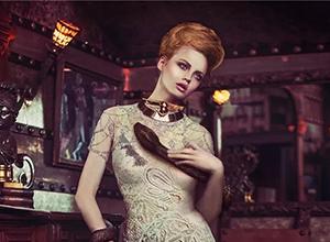 最新影楼乐虎娱乐平台新闻-在时尚写真中复活的古典艺术史