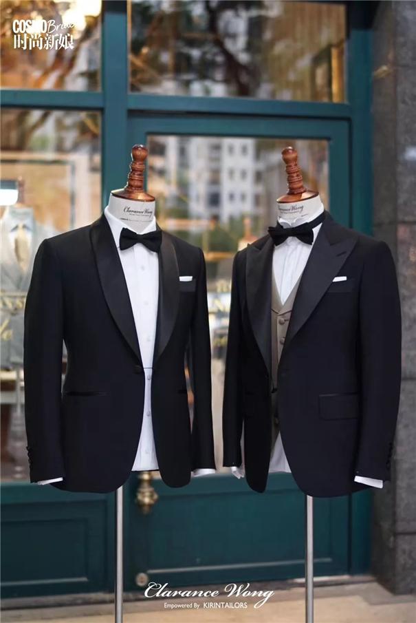 看胡歌穿西装,带你get婚礼新郎造型怎么做