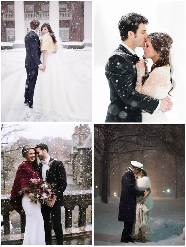 """雪天拍婚纱的正确打开方式!赴一场""""冰雪奇缘""""吧"""