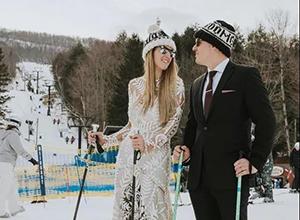 """最新影楼资讯新闻-雪天拍婚纱的正确打开方式!赴一场""""冰雪奇缘""""吧"""