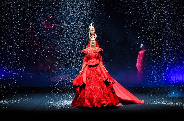 盘子女人坊携手盖娅传说布局中式婚纱千亿国际手机版