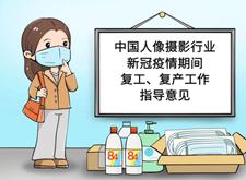 最新影楼资讯新闻-中国人像摄影行业新冠疫情期间复工复产工作指导意见