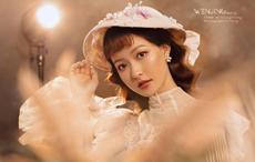 復古帽飾新娘造型