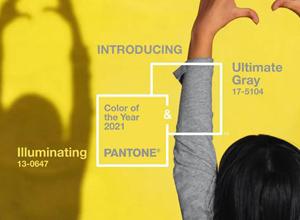 最新影樓資訊新聞-潘通公布2021年度流行色 極致灰、亮麗黃入選