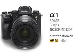 最新影樓資訊新聞-索尼發布全新旗艦無反相機α1 支持8K連拍高達30fps
