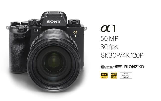 索尼發布全新旗艦無反相機α1 支持8K連拍高達30fps