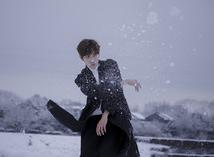 来么,让金浩森男神教你拍让人怦然心动的雪景人像写真